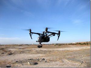 無人航空機による撮影